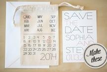 [ wedding ] - invitations & save the dates / by Lori Y