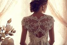 Wedding Dress Peg / The ideas I could put together into one dress. / by Mackenzie Molina