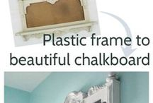 Chalkboards / Diy chalkboards,  from picture frames, can, jars, doors, how to make a chalkboard, chalkboard crafts, diy chalkboards, handmade chalkboard projects