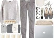 Style : loungewear / Editorials, flatlays and street style with loungewear style inspiration: homewear, cozy, comfortable ad soft