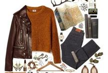 Style : preppy Fall / Editorials, flatlays and street style with Fall style inspiration: Retro, preppy and simple cozy