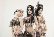 Belly dance / Belly dance : tribal fusion, Rachel Bryce, ATS, egyptian. Costumes, tutorials and videos