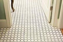 Home Decor: Flooring / ideas for flooring/wood/rugs