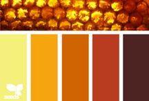 Palettes de couleurs / Couleurs, ambiances et conseils voici de quoi est composé ce tableau et cela toujours afin de vous inspirer.
