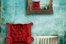 ~ღ~ Red & Aqua/Turquoise ~ღ~ / by ~ღ~Susan~ღ~