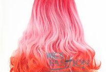 WIF Color Wigs / Check out WIF color wigs! www.wigisfashion.com