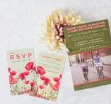 RSVP Wedding Cards / Wedding RSVP cards with personality! It's customary to include a RSVP card with your wedding invitations—but no one said they need to be boring.