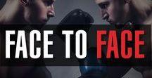 FACE TO FACE / Te damos la mejor información de las peleas de boxeo cara a cara para que estés al tanto de las características de los peleadores en cada round.