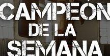 CAMPEÓN DE LA SEMANA