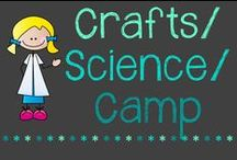 Crafts/Science/Camp / Summer camp = great crafts and science experiments to try!