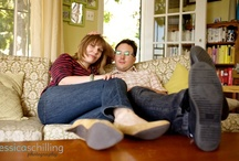 At Home Engagement Sessions / by Jessica Schilling Photography