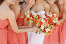 Coral/Citrus Wedding / by michaella marie