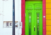 A door of Color / When one door is closed, don't you know, another is open. ~ Bob Marley / by Kayla Mae