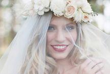Bridal Look  / Hair - Makeup - Accessories  / by michaella marie
