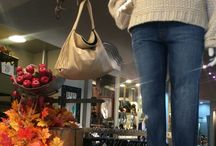 Annie Handbags and Accessories on Display.