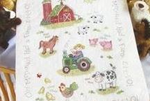 Inspiration for my farm blanket
