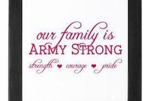 Army life / by Angie Rhoads