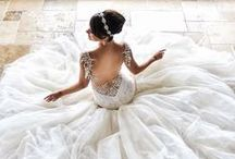 Wedding dresses / I really love lace wedding dresses :)