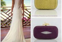 Wedding clutches / Annie Handbags Eris clutch.