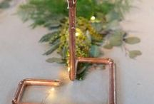 Copper wedding / Do you love copper as much as I do? By incorporating into your wedding, you can use as much as you want and add warmth and cachet to your special day.