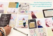 """Pocket Scrapbooking / Ideas on how to use """"pocket"""" scrapbooking to create beautiful, yet fast, scrapbook pages."""