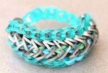 DIY Rainbowloom Bracelets