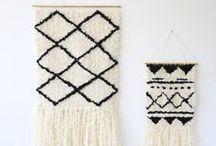DIY • DO IT YOURSELF / Weaving ~ Tentures ~ Tissage etc.