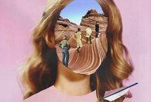 COLLAGE | CUT PASTE | COUPER COLLER / Collage | Art Collage | Collage Art | Découpage