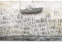 "Anselm Kiefer / ""Art is longing. You never arrive, but you keep going in the hope that you arrive."" - Anselm kiefer"
