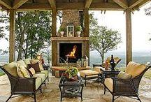 porches/ outdoor living / by Cindy Santonas