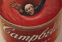 Artiste / Andy Warhol / Histoire des Arts : XXème siècle / Andy Warhol (1928-1987) est un artiste américain ; il appartient au Pop Art, mouvement artistique dont il est l'un des fondateurs.  / by Valérie WINTZ