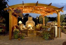 Outdoor Spaces / Pretty balconies, patios and outdoor living spaces / by Mary Derrick 1