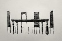 Curious Art: Jon Klassen / by Kelly Bock