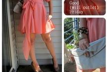 Thrift Store Friday / Outfits made entirely from pieces found at Goodwill Outlet Center