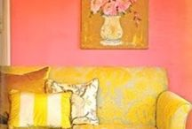 A home with yellow