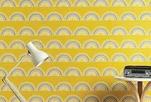 Colour Trend: Yellow / Check out this latest Summer 2014 colour trend, yellow. Pair it with grey, monochrome, or blue for 3 very different looks.  / by Sian Elin