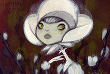 Curious Art: Krista Huot / by Kelly Bock