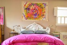 colorful bedroom / by Heather Curiel