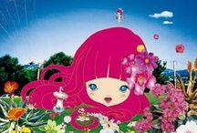 Curious Art: Superflat / Murakami Takashi, Chiho Aoshima, Ai Yamaguchi / by Kelly Bock