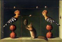 Curious Art: Magical Realism / Kevin Sloan, Ilya Zomb, Catrin Welz-Stein, Stephen Mackey / by Kelly Bock