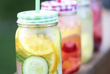 Fruit Infused water / Heerlijk water met een fruit smaakje maken..