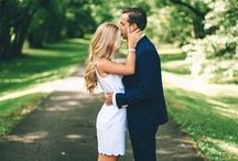 couple/engagement photos / by Jasmine Jenkins