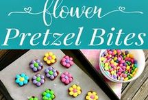 Spring and Easter food and decorating fun