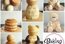 Sculpted cakes / Torte scolpite, 3d