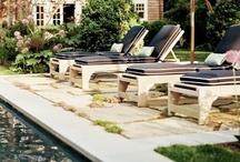 Patios & Porches & pools / by Bitty Birdie Design