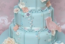 Wedding Cake, Birds & Birdy Homes