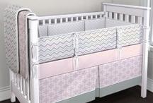 Carousel Designs Pin Your Perfect Nursery Contest / Winter Wonderland Gender Neutral Twin Nursery