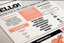 Resume/CV Design / by Rebecca Middlebrook