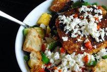 Salads / by Rebecca Middlebrook
