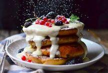 Stylish food / Inspiration for my food photography portfolio